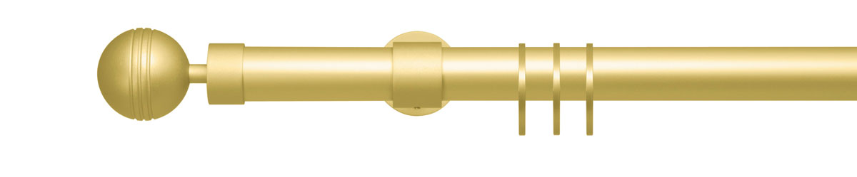 VION 28 mm STELO - gold - Pole set no. 1-2902-109