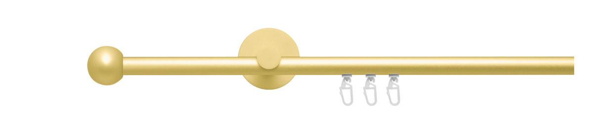 VION 16 mm TERA - gold - Pole set no. 4-1701-109