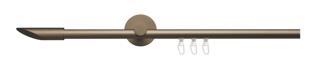 VION 16 mm DUNA - bronze - Pole set no. 4-1704-132