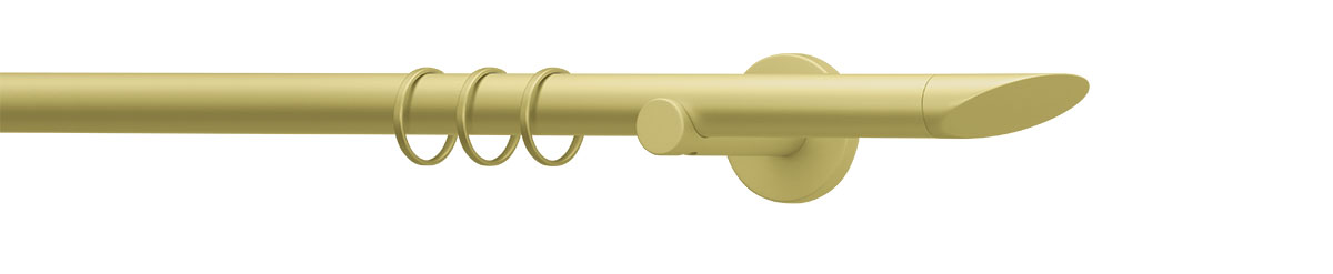 VION 20 mm SOLA - gold - Pole set no. 1-2122-109