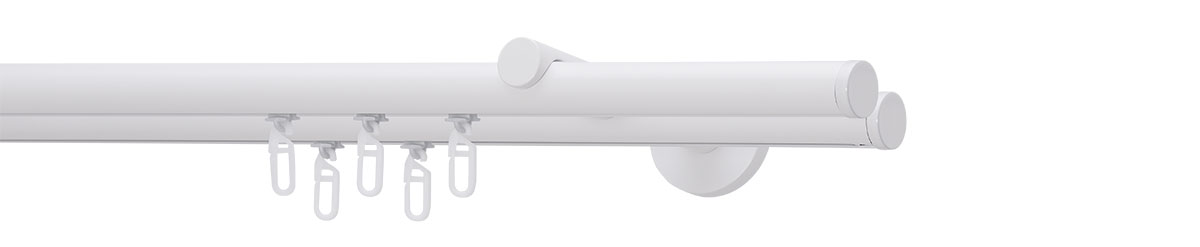VION 20 mm LINE - white - Pole set no. 5-2190-28